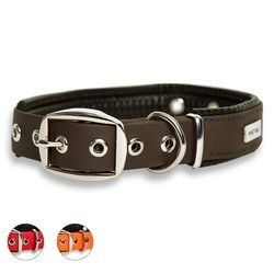 Collier Chien PetTec trioflex marron