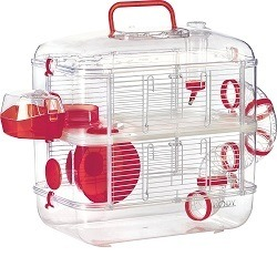 Cage pour Hamster Zolux Duo Rodylounge