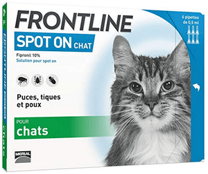 Frontline 6 pipette Spot On Chat